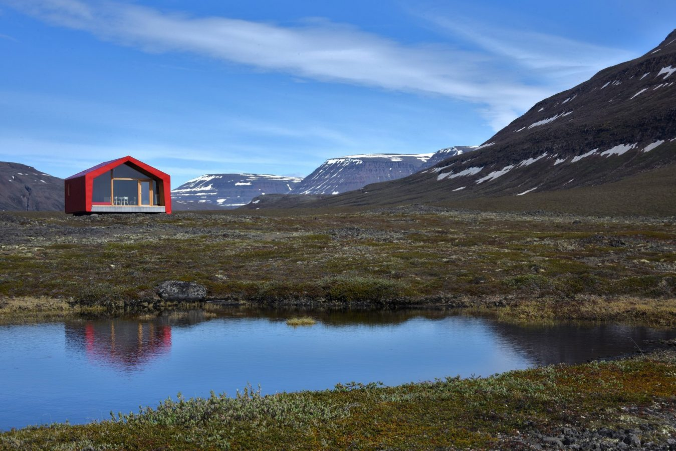 The Ariston Comfort Challenge Frame near lake Greenland