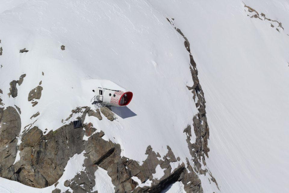 New Gervasutti bivouac - Leap Model: Hut